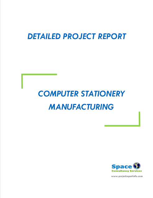 Project Report on Computer Stationery Manufacturing