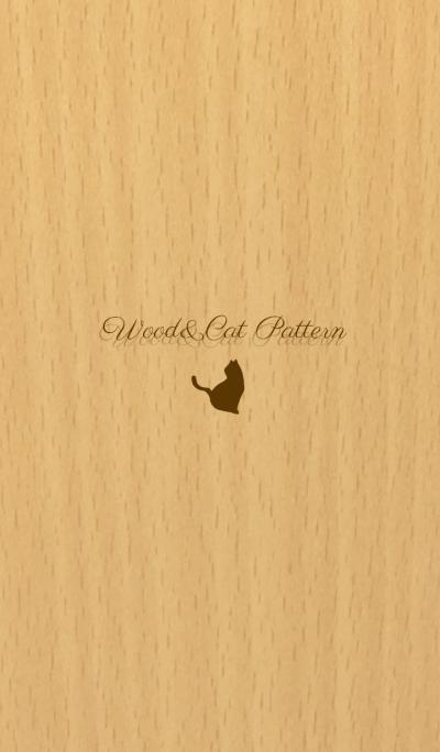 Wood&Cats Pattern