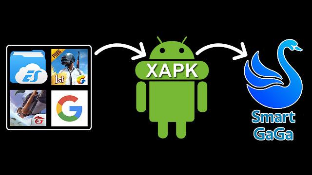 تثبيت التطبيقات والألعاب بصيغة xapk على محاكي الاندرويد الرائع سمارت غاغا
