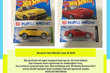 Bocoran Hot Wheels Case M 2020