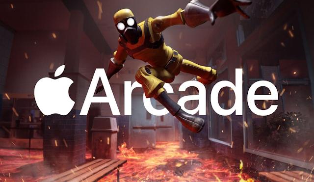 مكتبة العاب خدمة Apple Arcade تصل إلى 100 لعبة