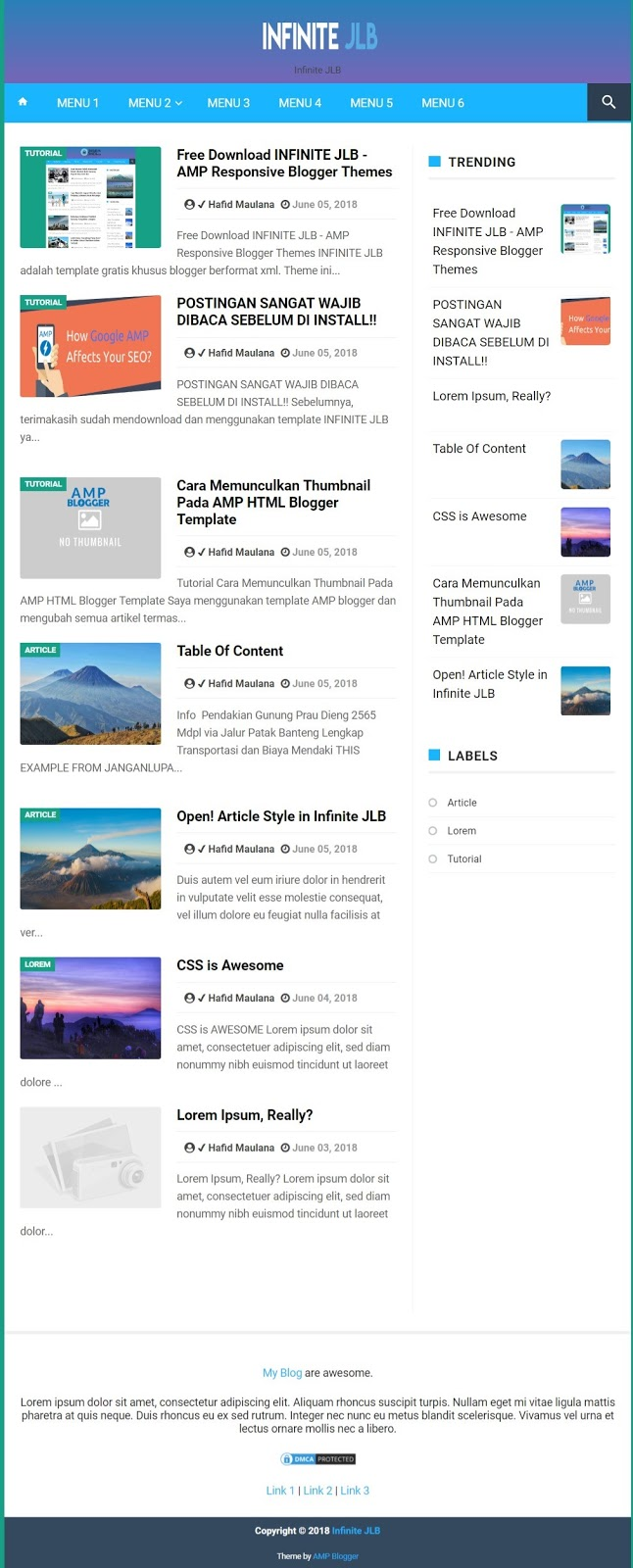 6 Best Google AMP Templates   Create AMP Pages for WordPress and Blogger