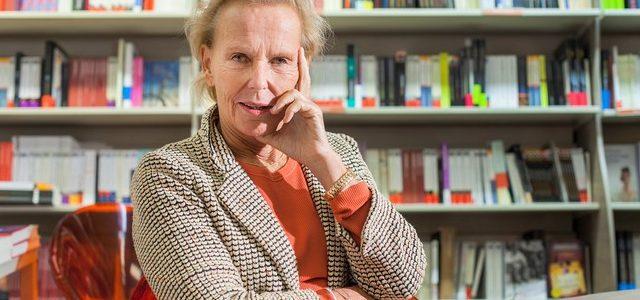 Christine Ockrent. Photographie Institut Français