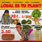Bad Bunny, Ñejo & Pj Sin Suela - ¿Cual es tu plan? (feat. DJ Nelson) - Single Cover