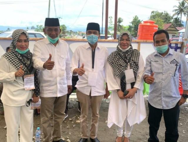 Terbukti Majukan Pendidikan di Lutra, Waka KNPI Sulteng All Out Menangkan Thahar-Rahmat