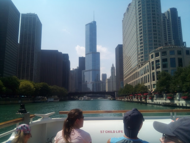 Trump Tower at Chicago River
