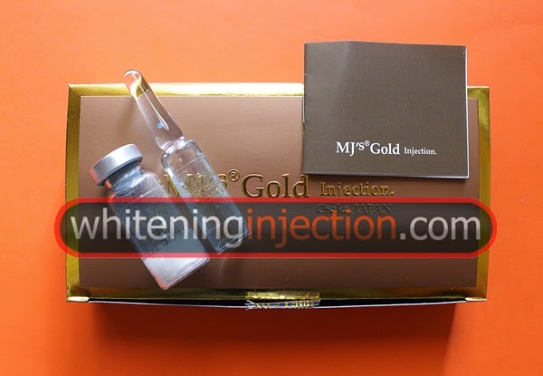 MJ's Gold Injection Osaka japan, Mj Gold harga Murah, jual MJ Gold, MJ Gold Whitening Injection, Efek Samping MJ Gold, MJ Gold Suntik Putih