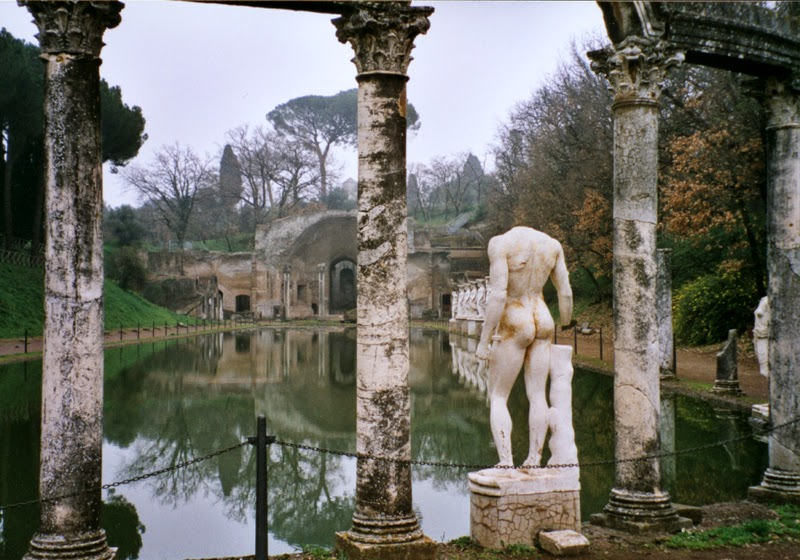 Hadrian and Greece meet again at Italy's Villa Adriana