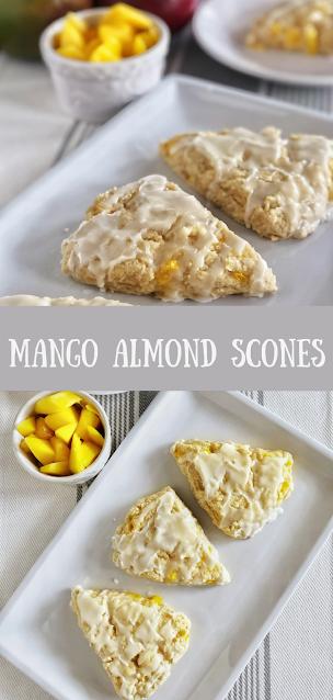 Mango Almond Scones