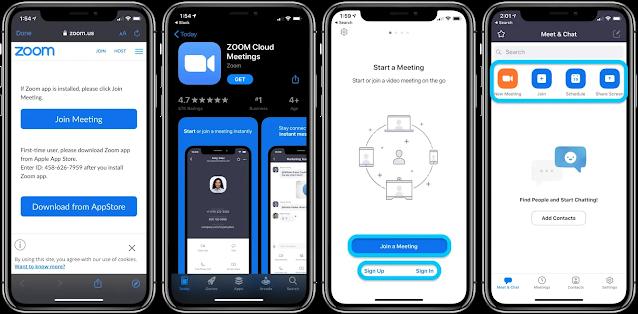كيفية إعداد واستخدم تطبيق Zoom على آيفون وآيباد