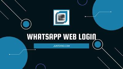WhatsApp Web Login Tanpa Scan Barcode