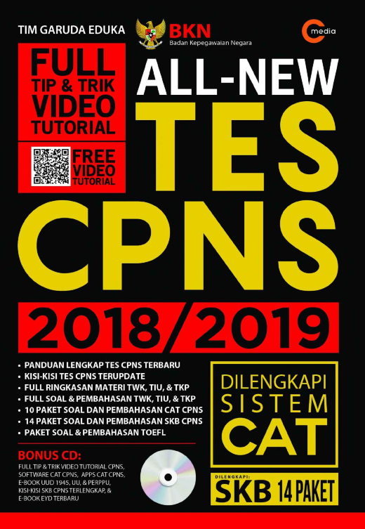 Download Gratis Full Ebook Soal Soal Cpns All New Tes Cpns