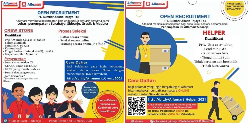 Loker Alfamart Kebumen 2021 : Dinas Tenaga Kerja Dan ...