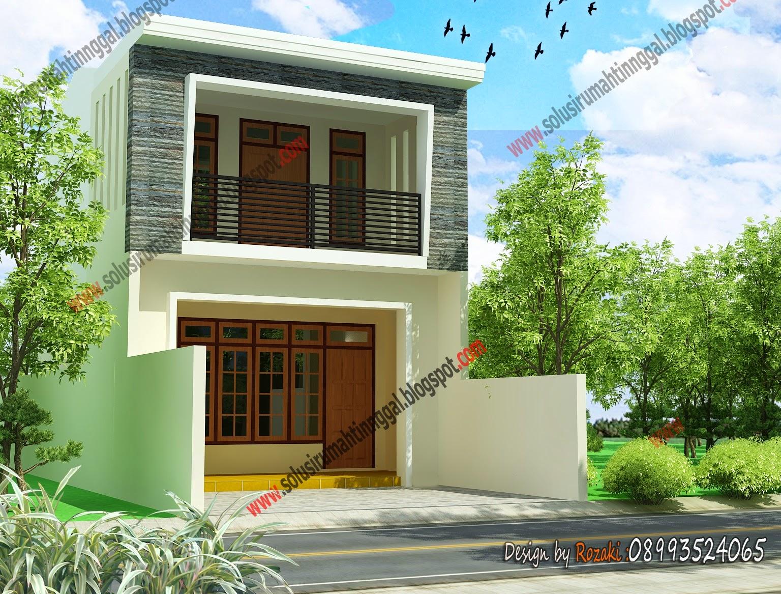 Model Rumah Minimalis Sederhana Satu Lantai