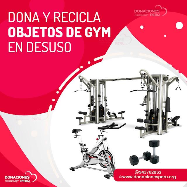 Dona Objetos de Gym