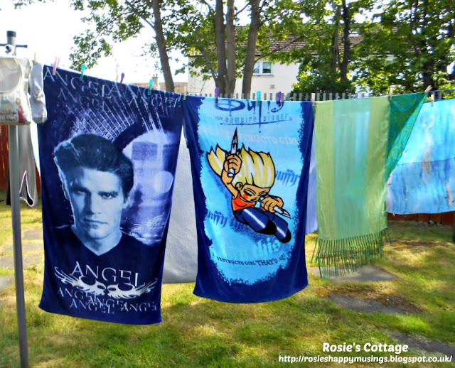 Buffy the vampire slayer & Angel beach towels.