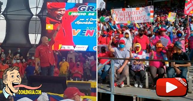Miles de chavistas podrían haberse contagiado durante un acto político de Diosdado Cabello