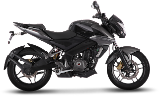 Bajaj Pulsar 200NS Graphite Black Color