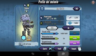 Mutants: Genetic Gladiators Breeding video N°128 (Astro Surfer - Zombie)