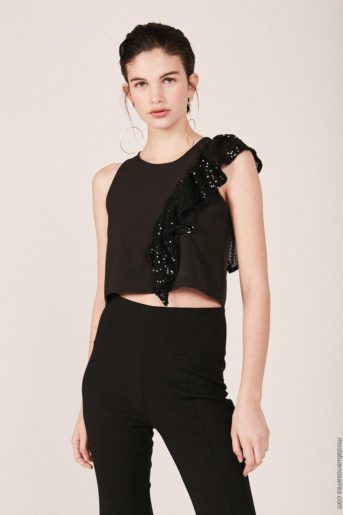 Tops de moda mujer primavera verano 2020 ropa de mujer.