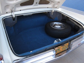 1963 Cadillac DeVille Convertible Trunk