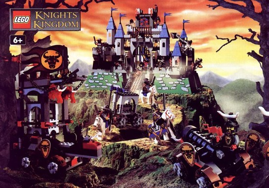 Steve's LEGO Blog: The Lego Bull Knights Sets 2000