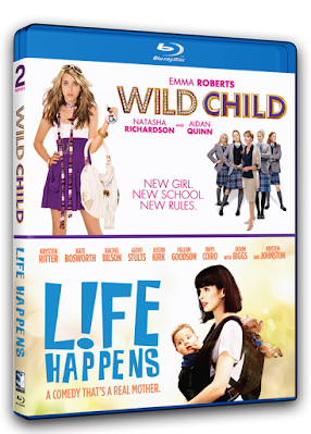 Blu-ray Review - Wild Child / Life Happens