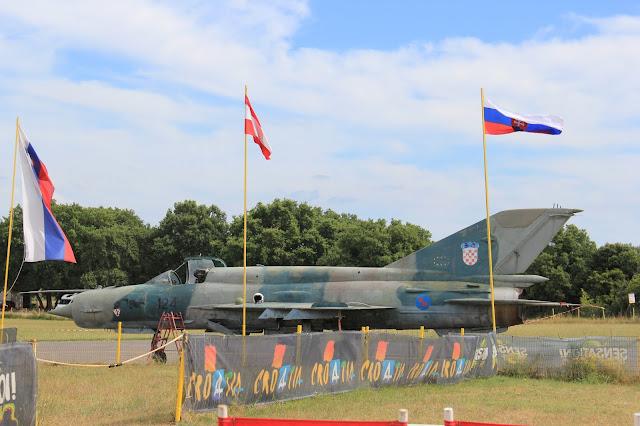 Aeropark-Vrsar-Istria-Croatia-Army-airplane