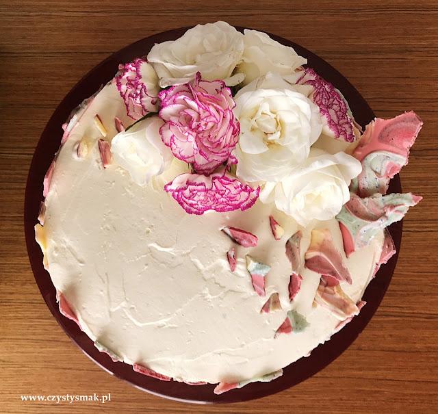 Tort z małą ilością węglowodanów