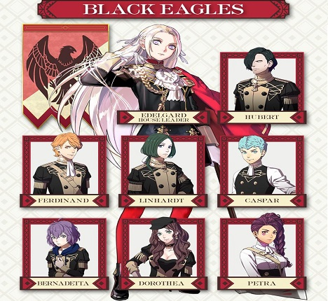 Fire Emblem: Three Houses - The Black Eagles