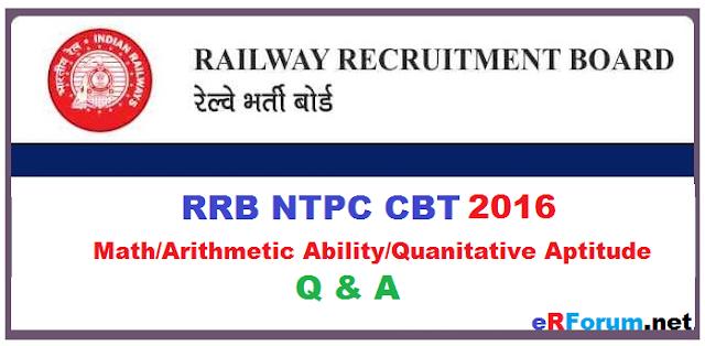 math-rrb-ntpc-cbt-2016