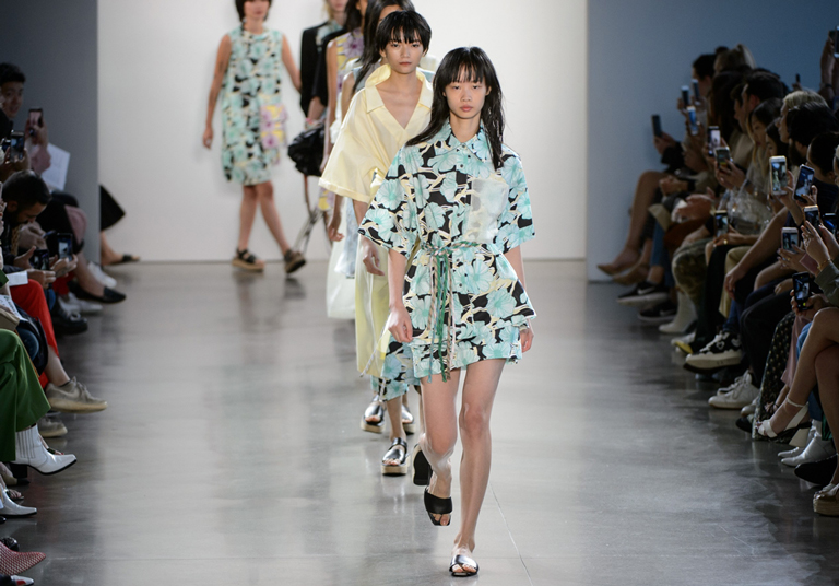 Asian Models at Spring 2019 Fashion Week