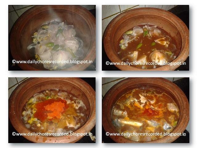 Fish Curry - Kerala Style