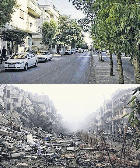 Сирия: до войны и сейчас