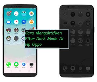Cara Mengaktifkan Fitur Dark Mode Di Hp Oppo