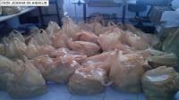 Hoje tivemos a entrega da cesta de Natal das assistidas do CEDE
