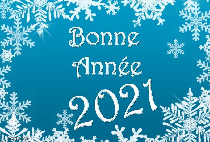 Messages bonne année 2021