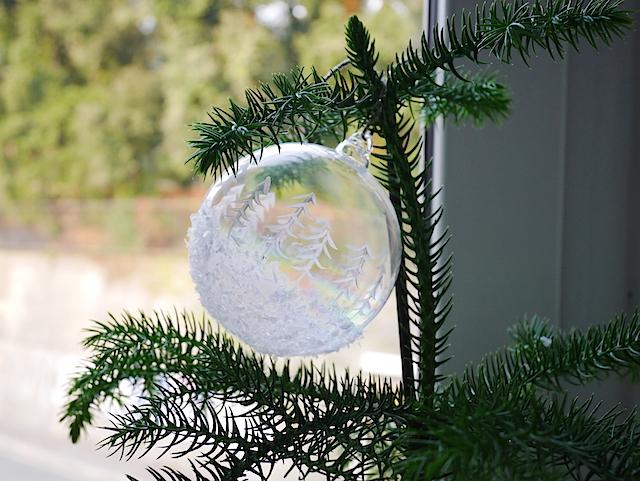 Appunti Di Casa Diy Palline Per L Albero Di Natale In Stile Artic