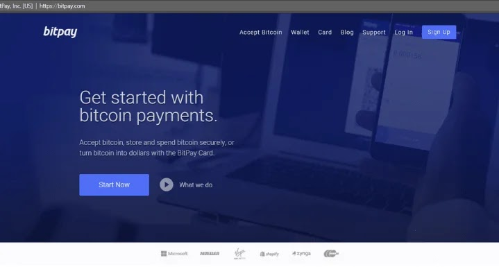 Accept Payment via BitPay