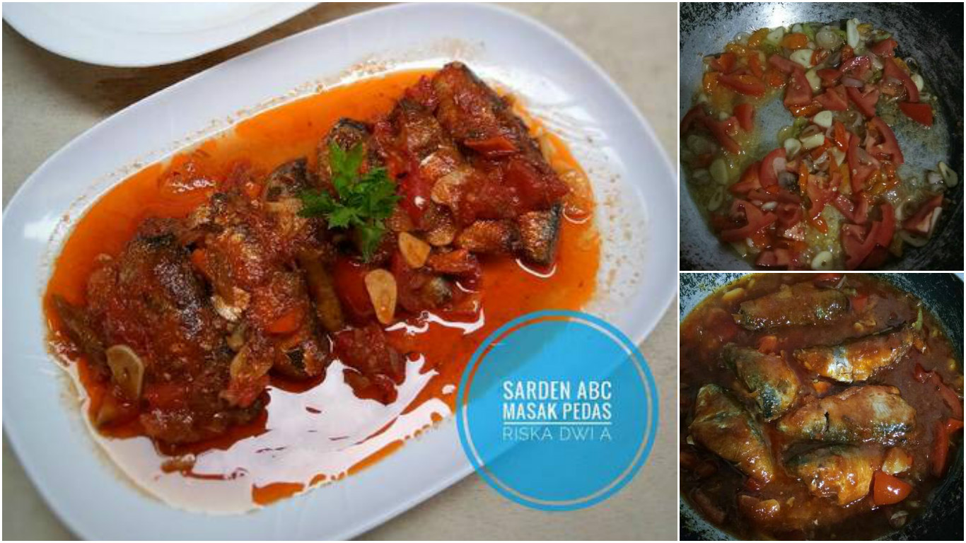 Resep Sarden Abc Masak Pedas Sederhana Sih Tapi Kalau Makannya Pake Nasi Anget Beuuh Modern Id