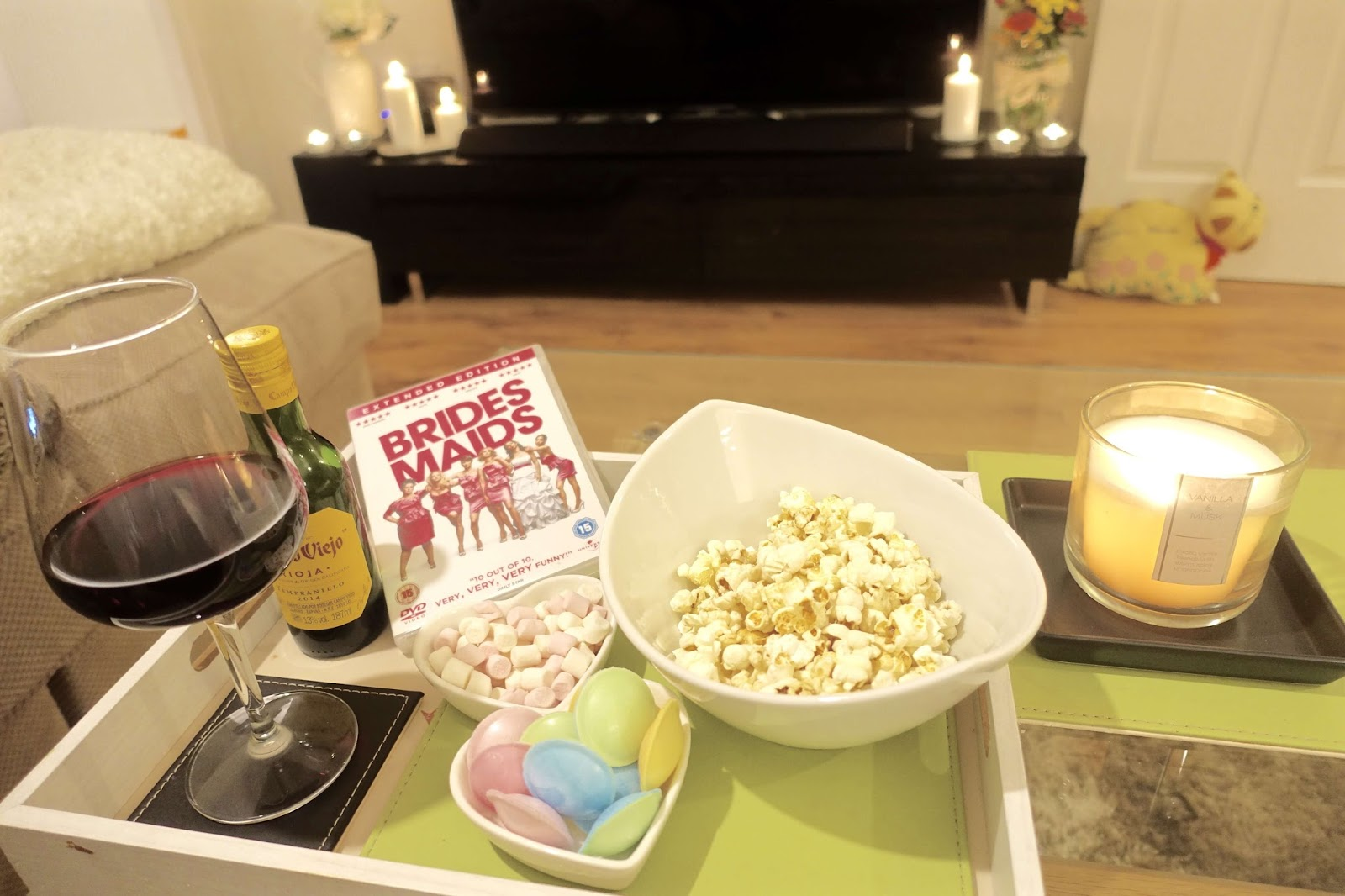 movie night at home nibbles