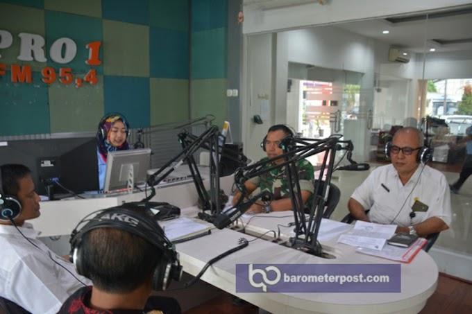 Menetralisir Berita Hoax Penculikan Anak Di Jember ,Kepala Staf Kodim 0824 /Jember Di RRI