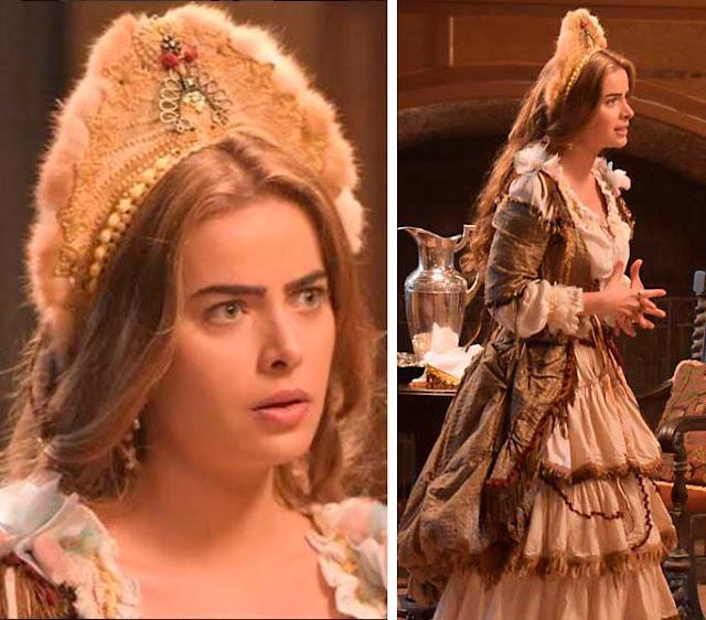 Vestido da Pietra no baile