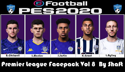 PES 2021 Premier League Facepack Vol  8 by Shaft