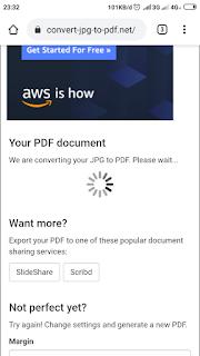 Proses convert jpg menjadi pdf