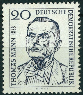 DDR Thomas Mann Novelist 1st Anniversary of Death Issue