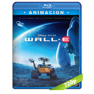 Wall·E (2008) BRRip 720p Audio Trial Latino-Castellano-Ingles 5.1