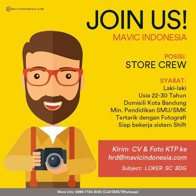 Lowongan Kerja Mavic Indonesia