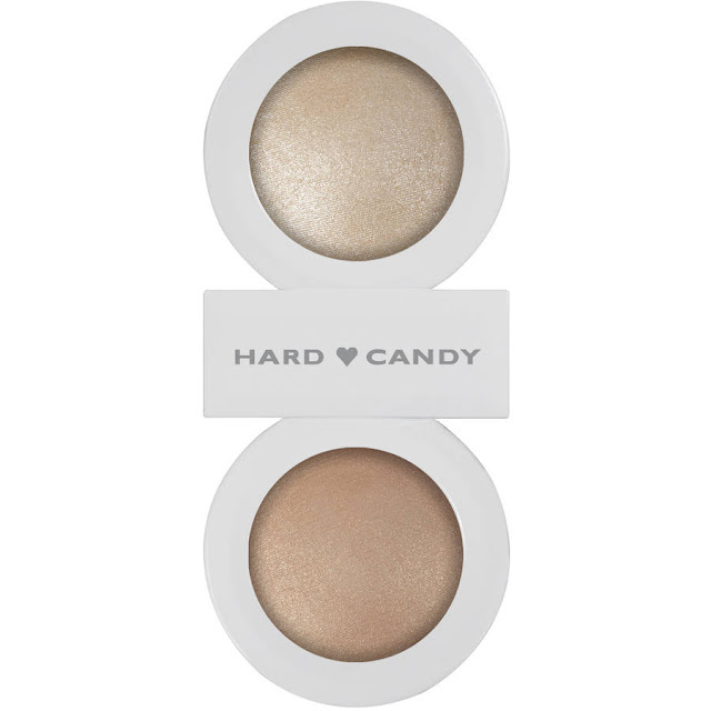 Makeup Highlighter Review-Hard Candy Just Glow Baked Illuminating Powder Duo - Twinkle Star- Review by Glitter Lambs