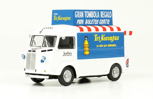 Citroën Type H 1959 TriNaranjus vehículos de reparto y servicio salvat